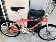 Gt Performer 20 Vintage Bmx All Original Cond Yes This Bike Has Paints Chipsandnbsp