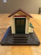 Lionel Whistling Freight Shed O Scale