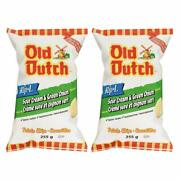 Old Dutch Rip-l Sour Cream And Green Onion Gluten Free Chips 255g/8.9oz, 2-pack