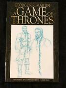 George R.r. Martin A Game Of Thrones 5 Sketch Variant Dynamite Comics Nm-