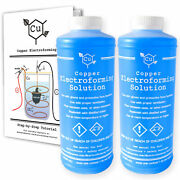 Copper Electroforming Solution | Set Of Two 1 L Bottles + Step By Step Tutorial