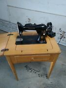 1954 Singer Sewing Machine With Table