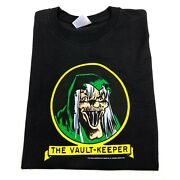 Vintage The Vault Keeper T-shirt Comic Book Tales From The Crypt Horror Large