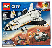 Lego City Space Mars Research Shuttle 60226 Building Kit 273 Pieces New