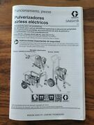 Graco Ultra 395 Pc Owners Manual In Spanish
