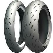 Michelin Power Gp Front Rear Tyre Combo 120/70-17 180/55-17 Motorcycle Tyres