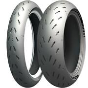 Michelin Power Gp Front Rear Tyre Combo 120/70-17 190/55-17 Motorcycle Tyres