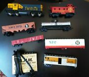 Santa Fe Electric Toy Train Plus Trains For Parts And Electric Adaptor