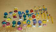 Vintage 1989 Mcdonaldand039s Happy Meal Funny Fry Friends Fry Guys Lot Large Lot