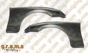 Toyota Supra Ridox Style Carbon Fibre Front Wings / Fenders + 30mm V8