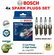 4x Bosch Spark Plugs For Cadillac Escalade Pickup 6.2 Awd 2010-on