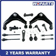 13x Upper Control Arm Tie Rod Ball Joint Pitman Idler Arm Sway Bar Fit For 8-lug