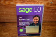 Sage 50 Pro Accounting 2020 1 User Bookkeeping Software - New And Sealed