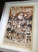 Tyler Stout The Warriors Poster Silkscreen 2006 | 1st Edition Signed Numbered