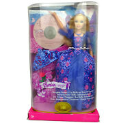 2000 Barbie Doll As Sleeping Beauty With Music Cd Of The Ballet
