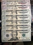 2013 2009 2017 Dollar Bill Star Note 5 Note Total
