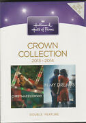 Hallmark Hall Of Fame Crown Collection 2013 2014 2 Dvd Christmas Double Feature