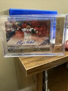 Bryse Wilson 2018 Topps Now Call-up Rc On-card Auto 4/10 Braves Bgs 10/10 Pop 1