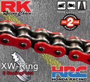 Rk Red Xw-ring Drive Chain 525 P - 118 L - Bmw S 1000 Rr Abs - 2009 - 2014