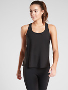 Athleta 2 In 1 Ultimate Support Top, Size M Medium, Yoga Jogging Gym Nwt 531149