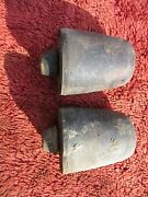 Austin Healey Sprite Mg Midget Driver And Passenger Side Front Bump Stops