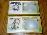 2 Vintage Kristy Craft Kits - Christmas Tole Painting Ornament Kits - Both New