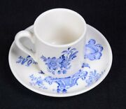 Vintage Staffordshire Royal Crownford Charlotte England Tea Cup And Saucer