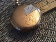 Antique Waltham Hunting Case Pocket Watch With Detail Workmanship