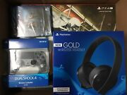Sony Ps4 Pro 1tb Spider-man Limited Bundle With Gow Ds4 And Headset, Nib Fast Ship