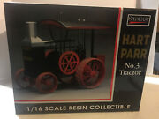 Hart-parr Gas Powered Tractor Vintage Collector Item Nib 1/16 Scale Spec Cast.