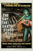 348057 The Day The Earth Stood Still Movie Michael Rennie Glossy Poster Ca