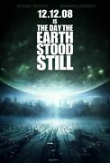 348344 The Day The Earth Stood Still Movie Keanu Reeves Glossy Poster Ca