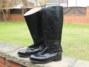 Goldtop Trophy Vintage Retro Motorcycle Boots. Free Postage. Good Condition