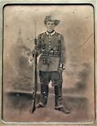 Giant Vintage Photo German Namibia Colonial Army Dswa Schutztruppe Foto Ca 1910