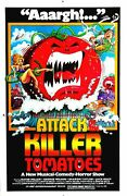 348490 Attack Of The Killer Tomatoes Movie Glossy Poster Us
