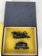 Sn3 Brass Vintage Pacific Fast Mail Dandrgw C-16 2-8-0 Locomotive 223 Rtr Used