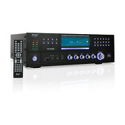 Pyle Bluetooth 4 Channel Home Theater Preamplifier Stereo Sound Systemopen Box