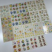 Vintage Easter Spring Holiday Sticker Sheet Mixed Lot 19 Sheets / 279 Stickers