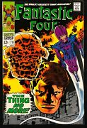 Fantastic Four 1961 78 Fn/vf 7.0 1st Dr. Molinari Jack Kirby Cover And Art