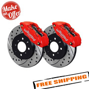 Wilwood 140-12996-dr Drilled And Slotted Rotor Forged Caliper Front Brake Kit