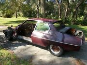 1971 Citroen Sm Body Shell Frame Solid Rust Free Wheels Included