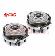 Pair 2 Front Wheel Hub Bearing For 2011-2016 Ford F-250 F-350 Sd 4wd 515131