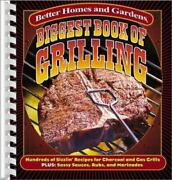 Biggest Book Of Grilling Hundreds Of Sizzlinand039 Recipes For Charcoal And Gas Gril