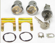 1967-1972 Chevy And Gmc Pickup Truck Ignition And Door Lock Kit W/matching Key