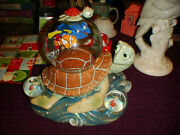 Working Disney Finding Nemo Dory Squirt And Crush The Turtles Musical 3 Snowglobes