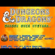 Used Dungeons And Dragons Shadow Over Mystara Som Cartridge Capcom 1996 Cps-2 Rpg
