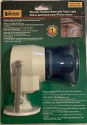 Homesafe Wireless Outdoor Siren With Flashing Light New In Sealed Package 526l