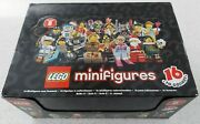 New Sealed Box Lego Minifigure Series 8 Case Of 60 Minifigs 8833 People Figures