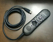 Nuance Powermic Ii 0powm2s-004 9 Ft. Dragon Dictation Microphone Barcode Scanner