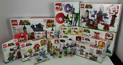 Brand New In Hand Lego Super Mario Lot Of 25 Sets Starter Set + Many More Yoshi